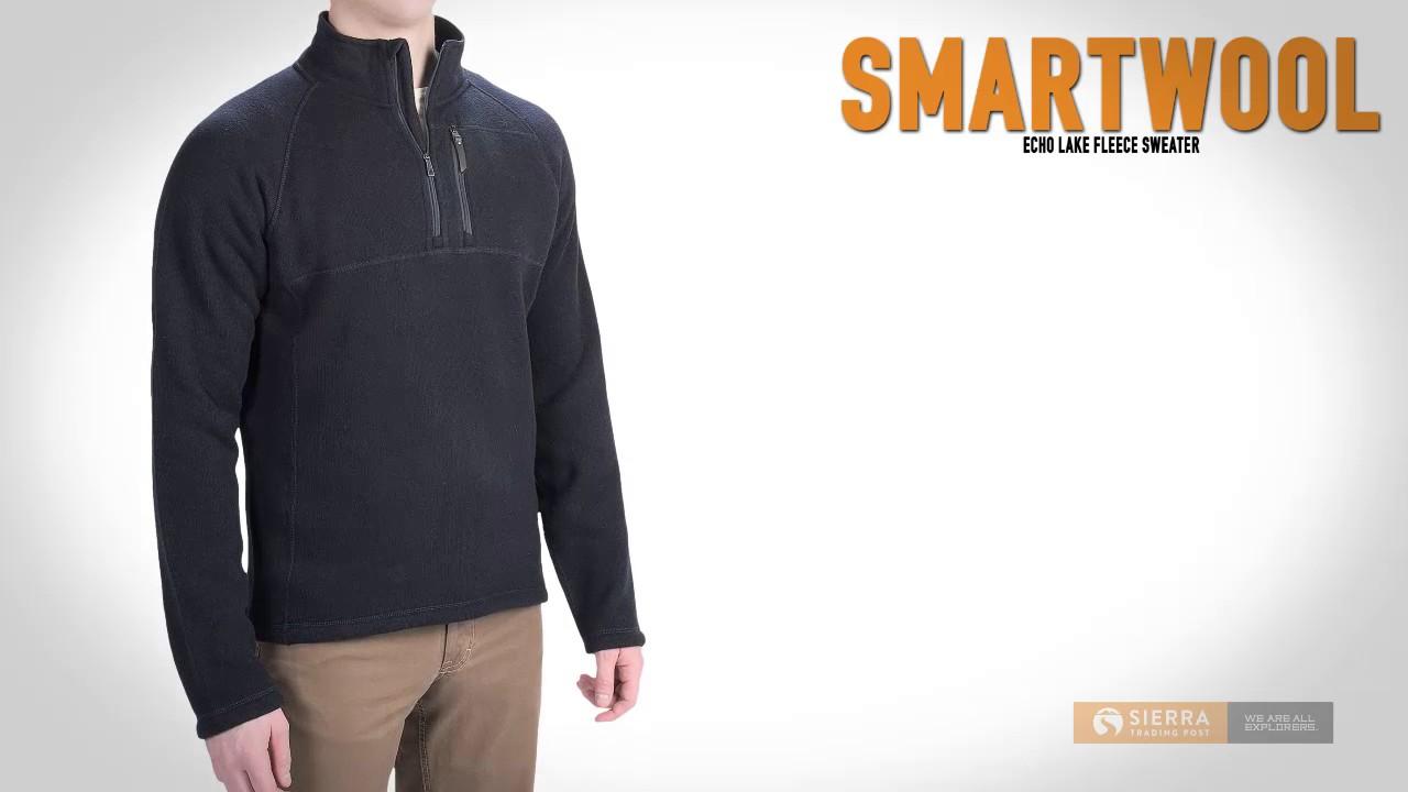 Smartwool Mens Echo Lake Full Zip