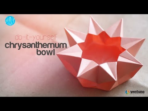 DIY : Chrysanthemum Bowl