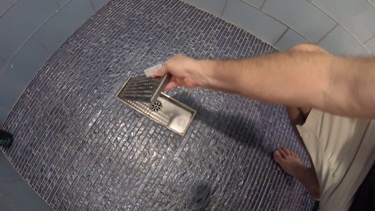 Review Hanebath Linear Shower Floor Drain With Removal Cover 12 Inch Lon Youtube