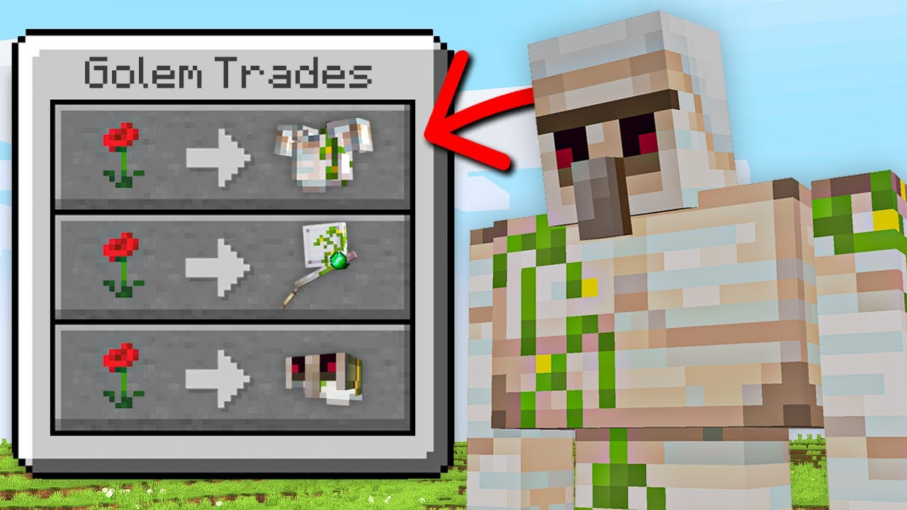 Minecraft, But You Can Trade With Any Mob...