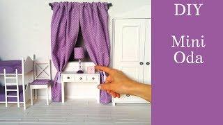 Mini oda yapımı/DIY Barbie room/Jak zrobić pokój dla lalki/Barbie evi nasıl yapılır/Casa de muñecas