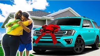 I BOUGHT MY DAD A $100,000 DREAM CAR!!! *EMOTIONAL*