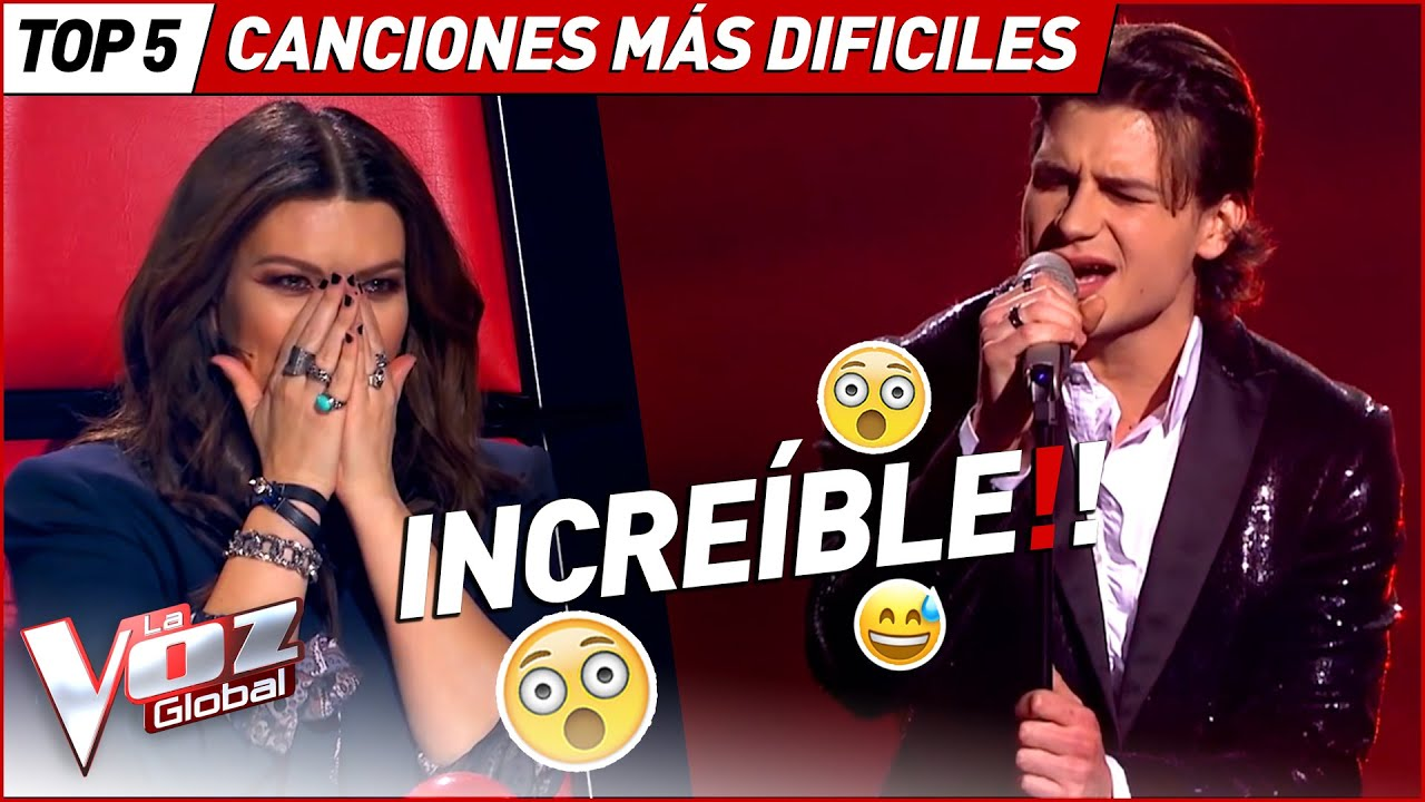 Sorprendieron a todos con estas canciones tan difíciles en La Voz