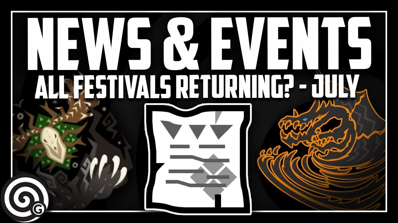 JULY NEWS - FESTIVALS COMING BACK! | MHW