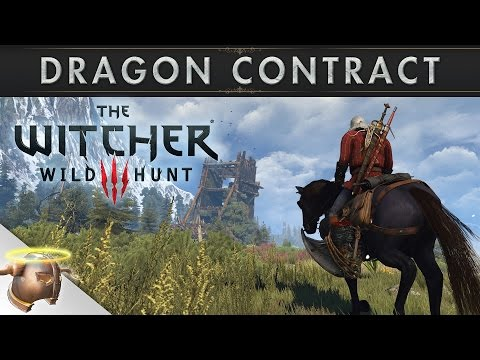 The Witcher 3 Wild Hunt: Dragon Hunt monster contract in Skellige