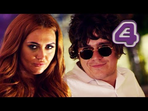 Charlotte Dawson Makes Frankie Cocozza Jealous! | Celebs Go Dating