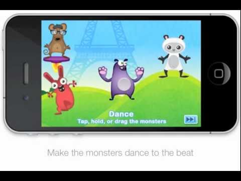 Musical Me! -- by Duck Duck Moose (iPad, iPod, iPhone App for Kids)