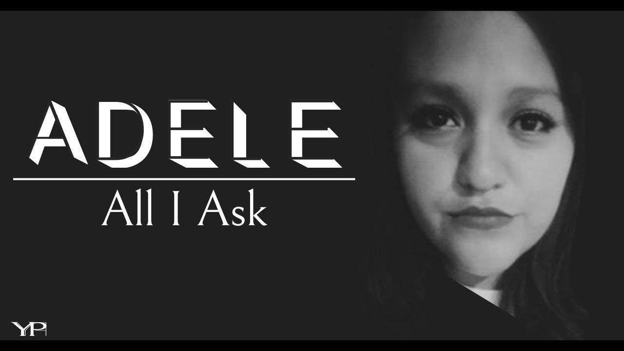 Adele - all i ask - piano cover [midi available].