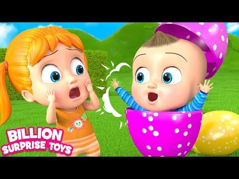 Little Babies SURPRISE  Children Songs  3D Ba Nursery Rhyme & Kids Song