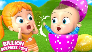 Giant Inflatable balloon | Children Songs | Billion Surprise Toys