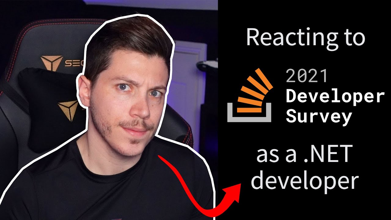 .NET developer reacts to the StackOverflow survey 2021
