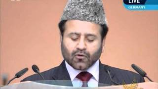 Tehrik-e-Jadid: its global impact and fruits, Urdu speech at Jalsa Salana Germany 2011