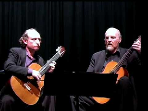Elgart Yates Guitar Duo plays To the Committee, text by Schoenberg