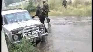Осетины в уличных боях в Цхинвали 8 августа 2008
