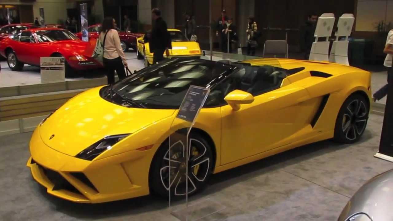 Merveilleux 2013 Lamborghini Gallardo LP560 4 Spyder   YouTube