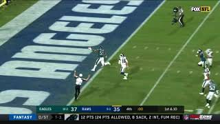 Rams Lateral Fail Results in Eagles Touchdown!   Eagles vs. Rams   NFL