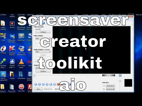 easilly make your own screensavers - download free screensaver creator toolkit aio portable