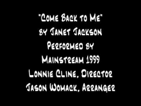 Come Back to Me (Jackson/Harris/Lewis)