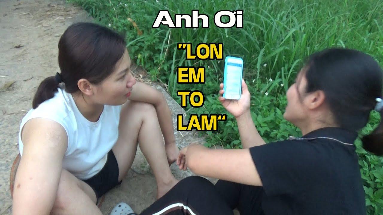 """Download """"ANH OI LON EM TO LAM"""" Cười Chảy Nước Mắt Với Cô Thôn Nữ Bán Lợn Nhắn Tin Cho Anh Mua Lợn."""