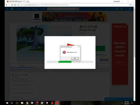 Roblox Initilialization Error 4 And How To Fix Outdated Youtube