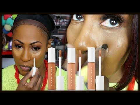 'NEW' Fenty Beauty By Rihanna Pro Filt'r Concealer First Impression & Wear Test