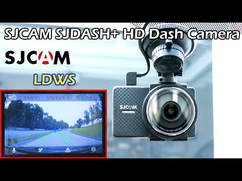 SJCAM SJDASH+ HD LDWS Dash Camera