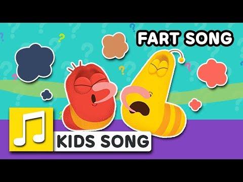 FART SONG | LARVA KIDS | BEST NURSERY RHYME | FUNNY SONG