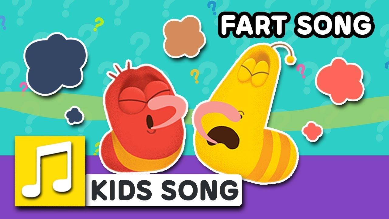 FART SONG   LARVA KIDS   BEST NURSERY RHYME   FUNNY SONG