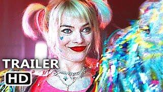 BIRDS OF PREY Official Trailer Teaser (NEW, 2020) Harley Quinn, Margot Robbie Movie HD