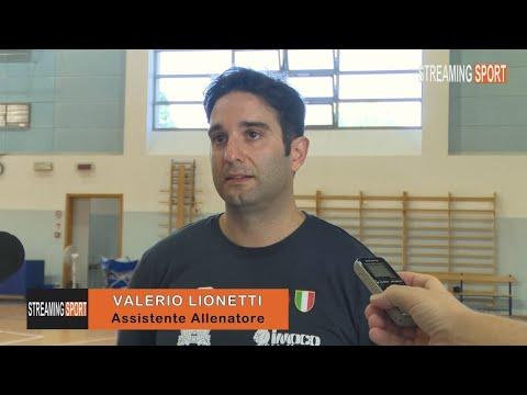 INTERVISTA CON VALERIO LIONETTI - ASSISTENTE ALLENATORE       IMOCO VOLLEY CONEGLIANO