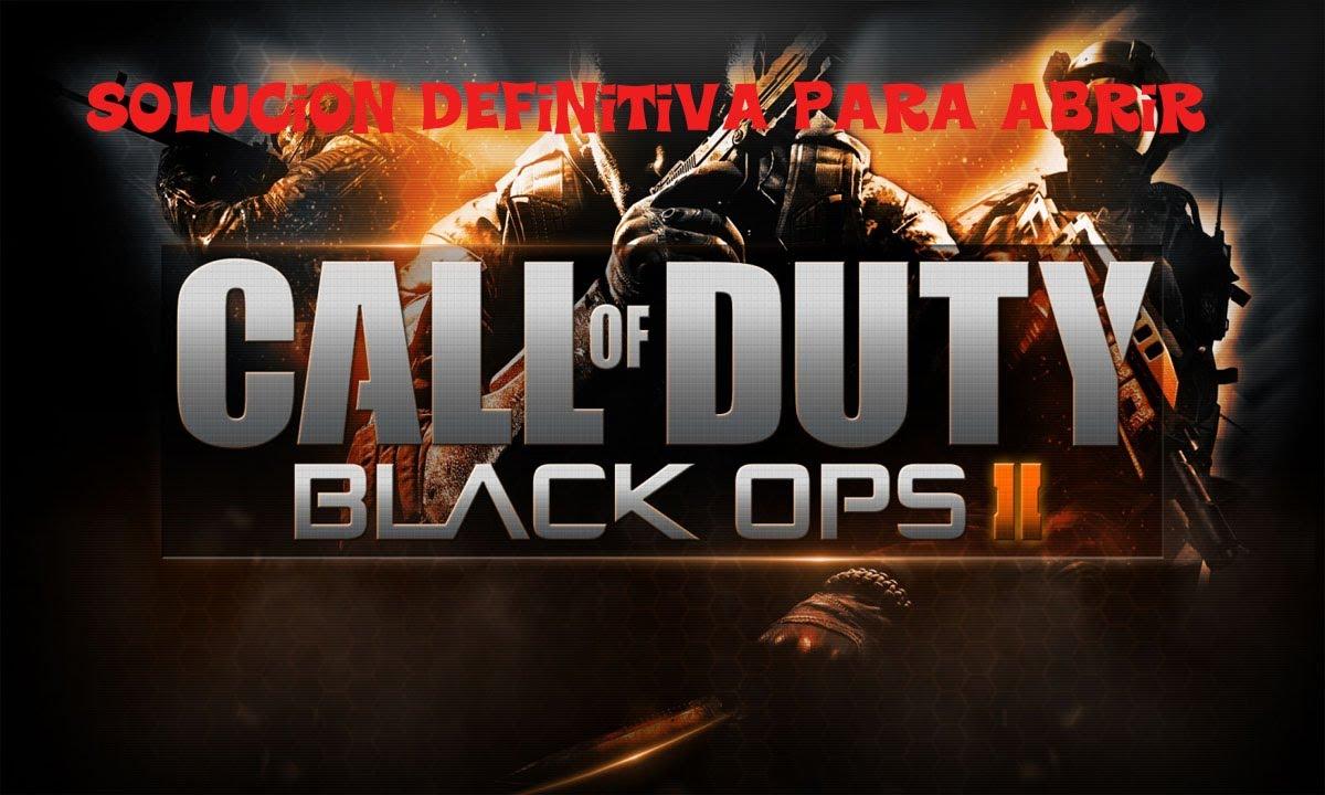 Solución para abrir Call of Duty Black Ops 2 PC(victorval)[Definitivo]