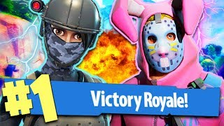 FORTNITE: REAL VITTORY WITH A FIORENTINA PLAYER!!