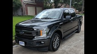 My new 2018 Ford F-150 XLT Sport
