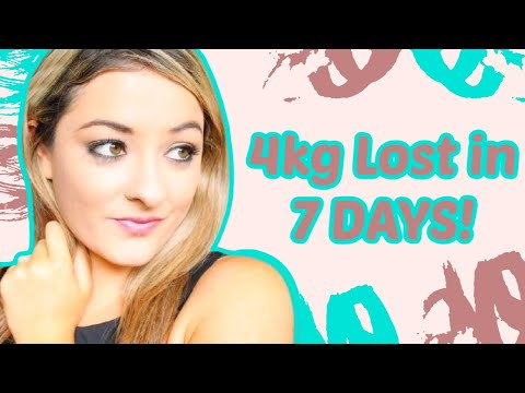 How To Lose 4kg Fast
