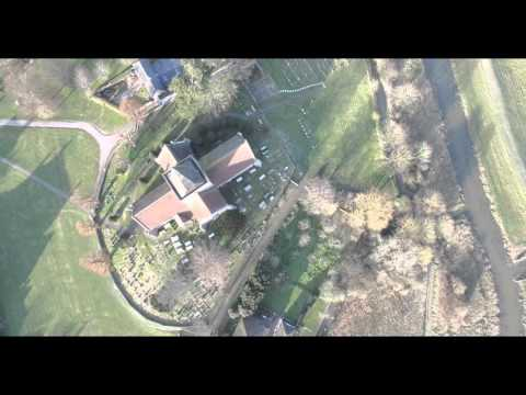 Alfriston drone flight