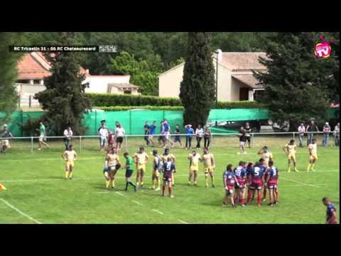 """Mistral Tv - 2014 05 25 Rugby : 1/8 de Finale """"Retour"""" RC TRICASTIN vs RC CHATEAURENARD"""