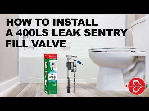 Fix Running Toilet | Water Saving Toilet Fill Valve | Adjusting Leak