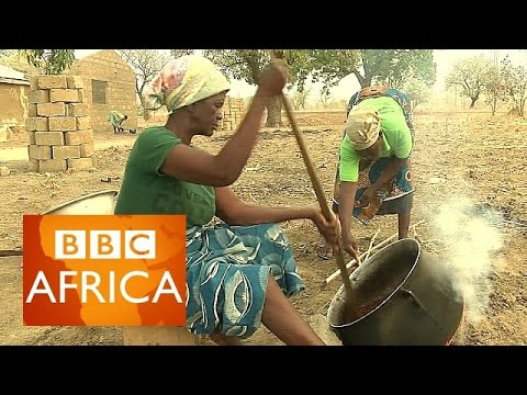 Shea butter in Ghana: Hard labour for smooth skin