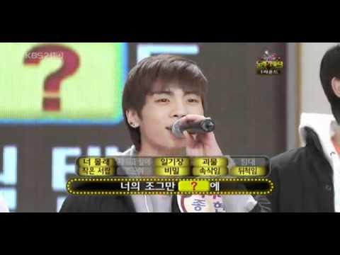 081211 Jonghyun singing Hug- DBSK