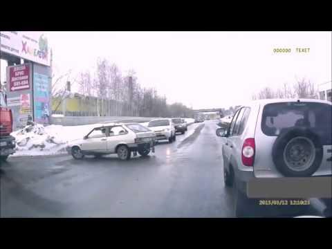 Авто приколы на дорогах  Автомобильные приколы с девушками за рулем