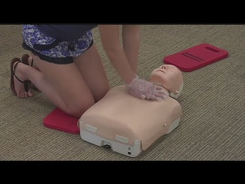 Red Cross Holds CPR Training Courses