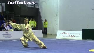 1st World Taijiquan Championships - Women's Group A Compulsory Chen Taijiquan - 1st Place CHN