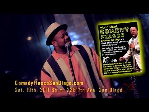 Mark Christopher Lawrence Comedy Fiasco Feb. 19, 2011 FULL Promo w/ Josh Damigo