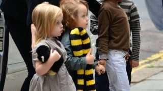 Jolie-Pitt twins • Child Stars • Collab Part
