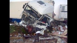 Аварии грузовиков 2018 грузовики фуры дальнобойщики жесть