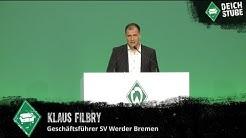 Klaus Filbry über Werders Ziele