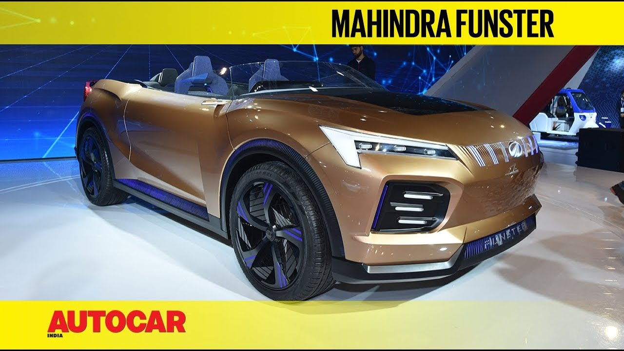 Auto Expo 2020 Mahindra Funster Electric Suv Concept Walkaround Autocar India Youtube