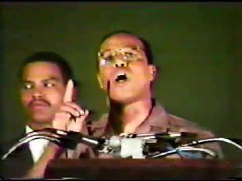 Belize Socio/Political challenge - Farrakhan message to Belizeans Jan/1986