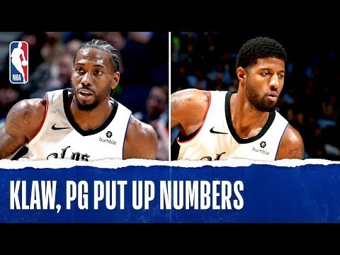 Kawhi, PG MAKE HISTORY in the Twin Cities!