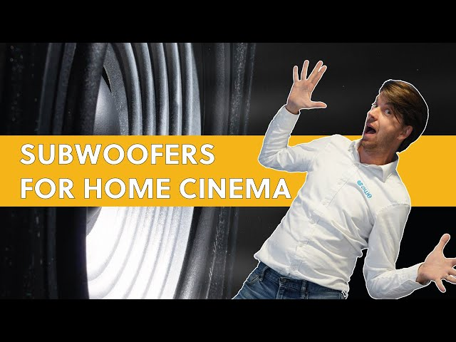 4 Things to Think About When Specifying Subwoofers for a Home Cinema